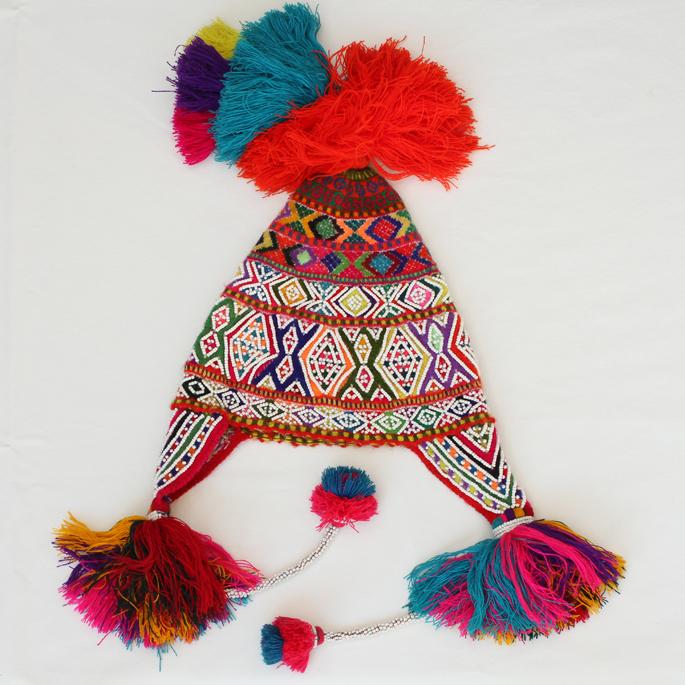Beaded Q'ero Hat