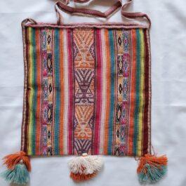 colorful alpaca bag